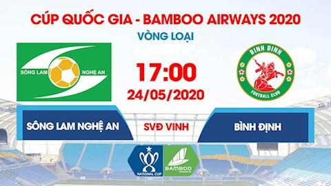 Trực tiếp bóng đá link xem SLNA vs Bình Định cúp quốc gia hình ảnh