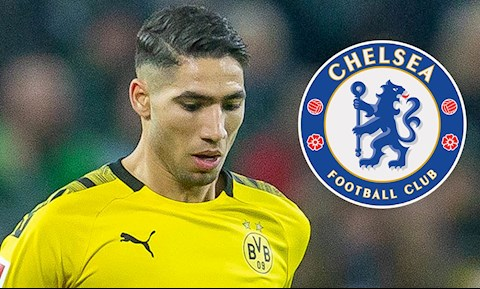 Chelsea từ chối chiêu mộ hậu vệ Achraf Hakimi hình ảnh