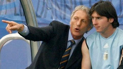 Vì sao tiền đạo Messi không được trao cơ hội ở World Cup 2006 hình ảnh