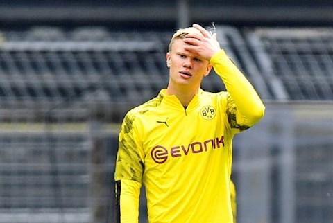Bayern vs Dortmund Haaland mo nhat