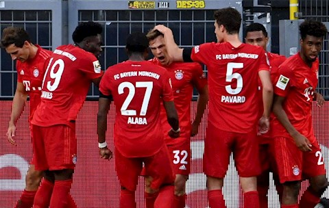 Dư âm Dortmund 0-1 Bayern Munich Thợ cả và học việc hình ảnh