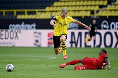 Haaland dính chấn thương sau trận thua Bayern Munich hình ảnh