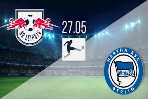 Trực tiếp bóng đá Leipzig vs Hertha Berlin Bundesliga 2020 hình ảnh