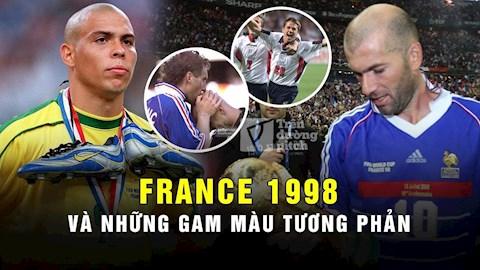 France 98: VCK World Cup của những gam màu tương phản (P1)