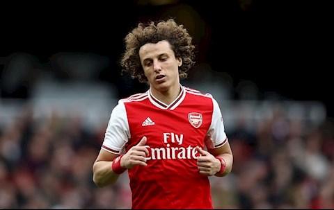 Trung vệ David Luiz có thể rời Arsenal chỉ sau 1 năm hình ảnh