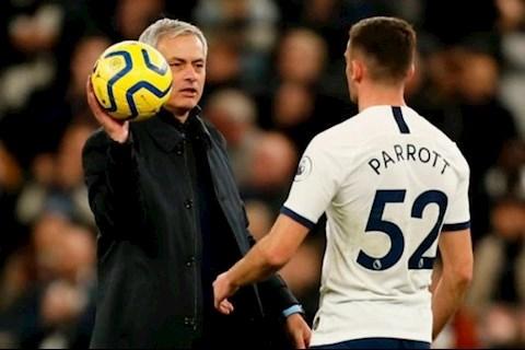 Mourinho nên để tiền đạo Troy Parrott rời Tottenham hình ảnh