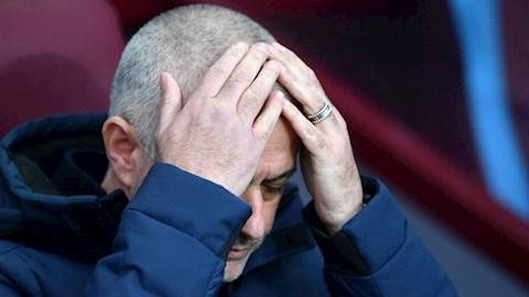 HLV Jose Mourinho duy nhất 1 lần khóc sau thất bại hình ảnh