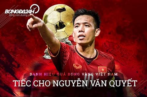 Danh hiệu Quả bóng vàng Việt Nam Tiếc cho Nguyễn Văn Quyết hình ảnh