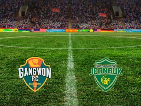 Gangwon vs Jeonbuk Motors 14h30 ngày 305 VĐQG Hàn Quốc 2020 hình ảnh