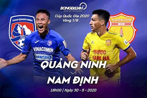 Trực tiếp Quảng Ninh vs Nam Định hôm nay 305 Cúp QG 2020 hình ảnh