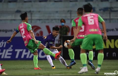 HLV Đồng Tháp tiết lộ lý do thua đậm Hà Nội FC ở những phút cuối hình ảnh