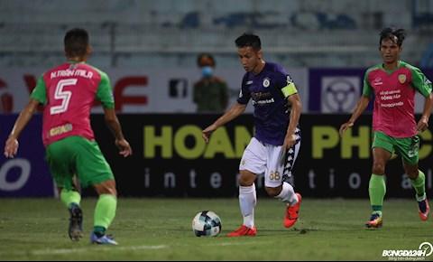 CLB Hà Nội thắng trận đầu ở cúp quốc gia Trong nỗi nhớ Văn Quyết hình ảnh