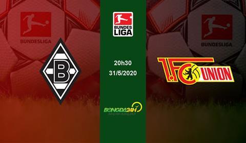 Gladbach vs Union Berlin 20h30 ngày 315 Bundesliga 201920 hình ảnh