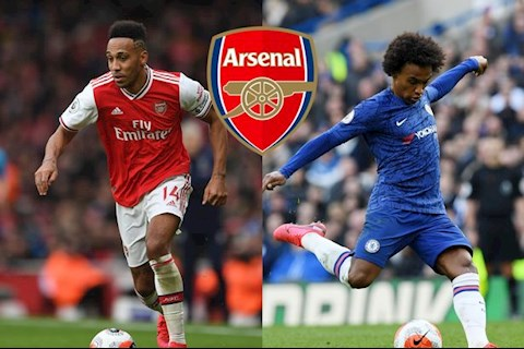 Kevin Campbell khuyen Willian toi Arsenal