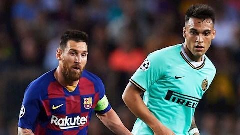 Messi có thể đưa Lautaro Martinez tới Barca hình ảnh