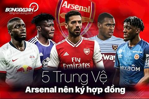 5 trung vệ chuyển nhượng Arsenal nên tìm cách ký hợp đồng hình ảnh