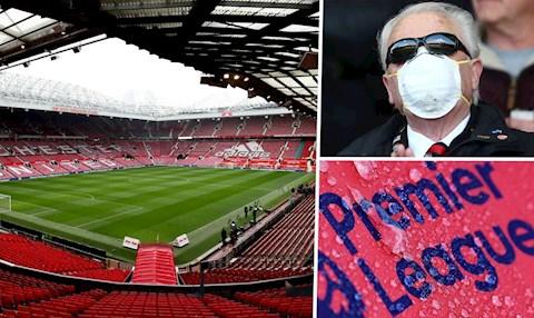 Premier League có thể tiếp tục thi đấu trên sân không khán giả hình ảnh