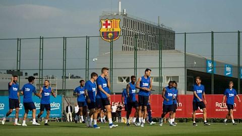 Chốt thời điểm Barca tập luyện trở lại bình thường hình ảnh