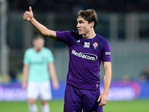 Tiền vệ Federico Chiesa có câu trả lời cho MU và Juventus hình ảnh