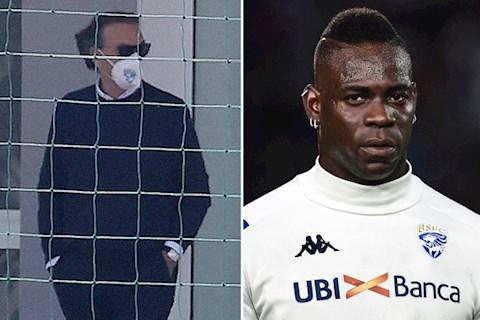 HLV Brescia chia sẻ lý do Mario Balotelli bị đá ra đường hình ảnh