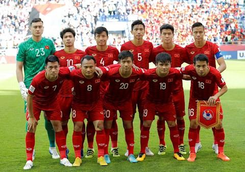 Bảng xếp hạng FIFA tháng 62020 ĐT Việt Nam giữ phong độ  hình ảnh
