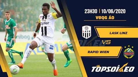 LASK Linz vs Rapid Wien 23h30 ngày 106 VĐQG Áo 201920 hình ảnh