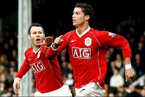 Ronaldo va Giggs
