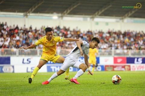 HAGL 1-0 Nam Định Tạm yên trước bão giông hình ảnh