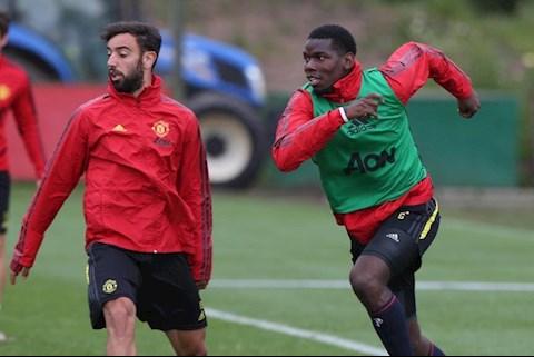 Bruno Fernandes muốn sát cánh cùng Pogba ở trận gặp Tottenham hình ảnh