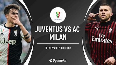 Juventus vs AC Milan 2h45 ngày 136 cúp quốc gia Italia 201920 hình ảnh