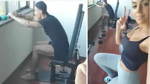 Bạn gái phâm phục tiền đạo Cristiano Ronaldo về khoản tập luyện hình ảnh