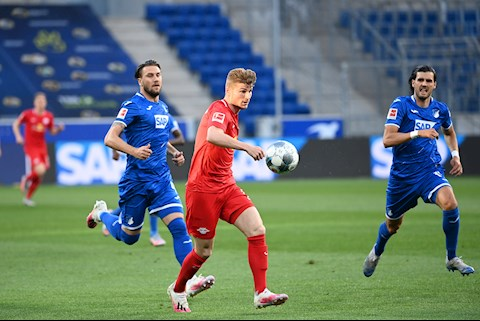 Bàn thắng kết quả Hoffenheim vs Leipzig 0-2 Bundesliga 2020 hình ảnh