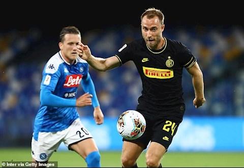 Napoli 1-1 (2-1) Inter Milan Ghi bàn từ chấm phạt góc, Eriksen vẫn không cứu nổi Conte hình ảnh 2
