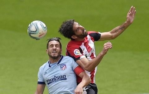 Atletico vs Bilbao Koke