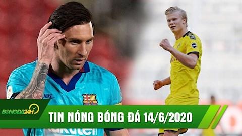 TIN NÓNG BÓNG ĐÁ 146 Messi ghi bàn, Barca đại thắng hình ảnh
