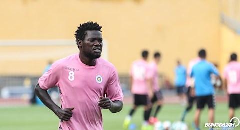 Moses Oloya tự tin trước trận cầu đinh Hà Nội FC vs Hải Phòng hình ảnh