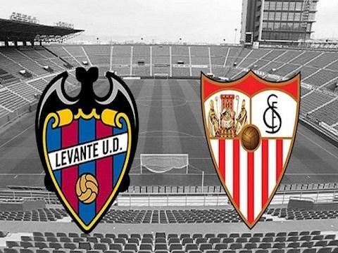 Levante vs Sevilla 0h30 ngày 166 La Liga 201920 hình ảnh