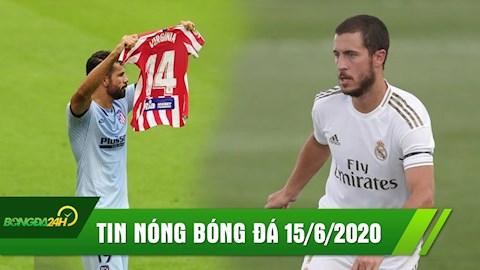 TIN NÓNG BÓNG ĐÁ 156 Hazard hồi sinh, Real thắng dễ hình ảnh