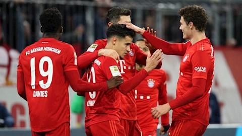 Bayern Munich vô địch Bundesliga 201920 Những thống kê ấn tượng hình ảnh