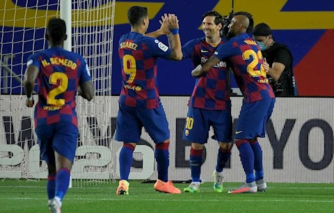 5 điểm nhấn trận Barca 2-0 Leganes Messi và tiểu Messi… hình ảnh