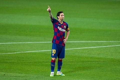 Barca vs LEganes Messi ghi ban