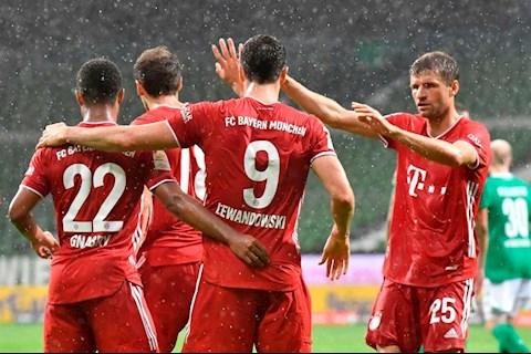 Chùm ảnh Bayern Munich giành chức vô địch Bundesliga thứ 8 liên tiếp hình ảnh 2