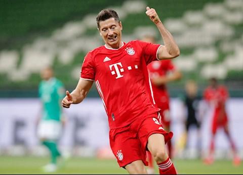 Lewandowski mo ty so cho Bayern vao cuoi hiep 1