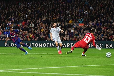 Bất ngờ Thần đồng Ansu Fati xuất sắc hơn cả Messi hình ảnh