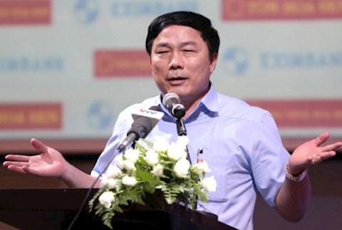 Bầu Đệ dỗi sau khi HLV Nguyễn Thành Công từ chức hình ảnh