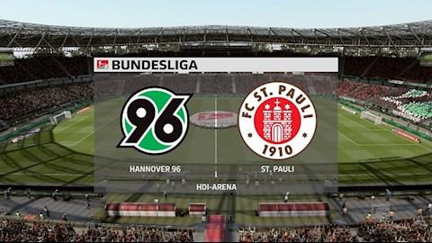 Hannover vs StPauli 23h30 ngày 176 Hạng 2 Đức 201920 hình ảnh