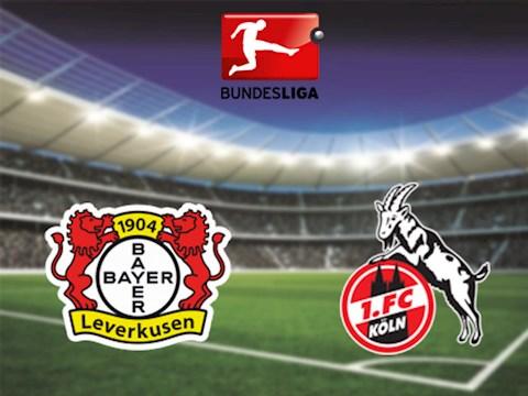 Leverkusen vs Cologne 1h30 ngày 186 Bundesliga 201920 hình ảnh