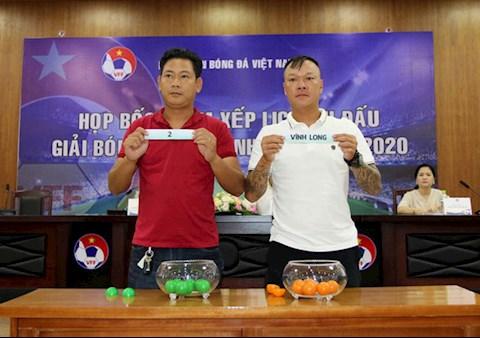 Giải hạng Nhì Việt Nam 2020 sẽ có 2 nhà vô địch hình ảnh