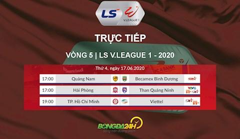 Trực tiếp VLeague hôm nay 1762020 Link xem V League VTV6 hình ảnh