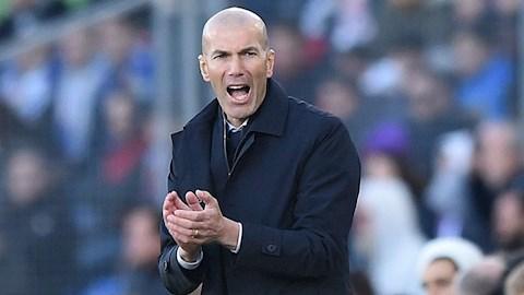 HLV Zidane phản pháo nhận định trọng tài bênh Real Madrid hình ảnh